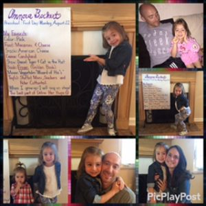 Annora first day of school