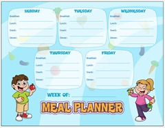 meal planning with kids a kid friendly meal plan more than a mommy